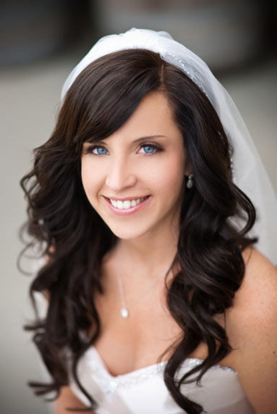 Pernikahan mengumpulkan gaya rambut dengan kerudung. Jenis gaya ... 10d76c5ee4