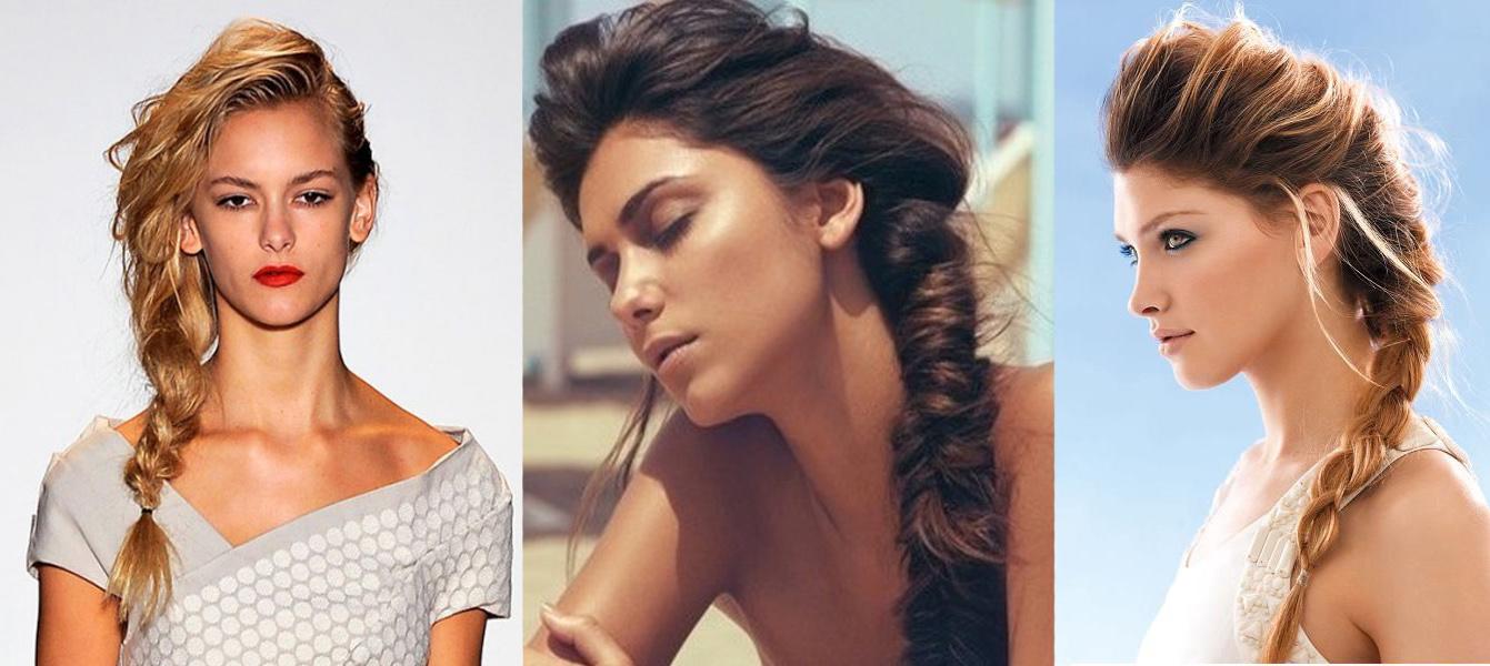 Pada rambut keriting Anda bisa membuat gaya rambut dengan tenun yang  berbeda. Misalnya 4419e8bebb